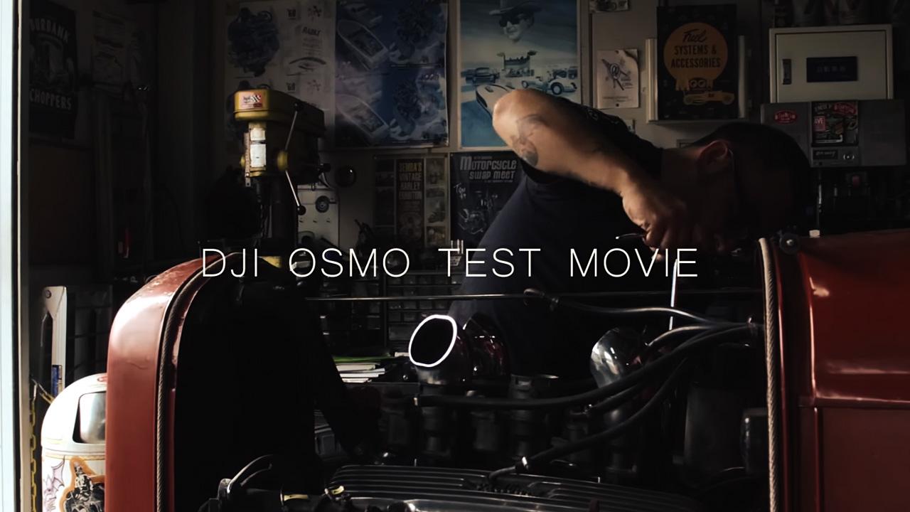 DJI OSMO TEST 動画