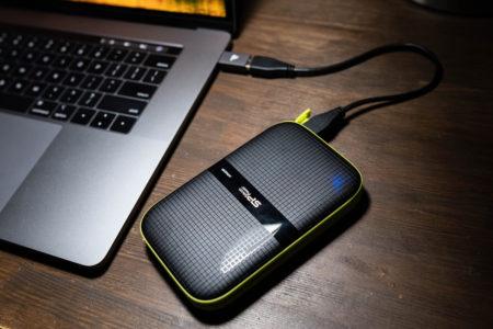 シリコンパワー ポータブルHDD SP020TBPHDA60S3K