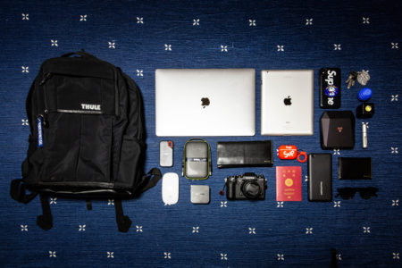 デザインと機能性を両立する数少ない Backpack THULE PARAMOUT 27L