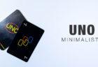 デザイン要素を究極に削ぎ落とした UNO Minimalista